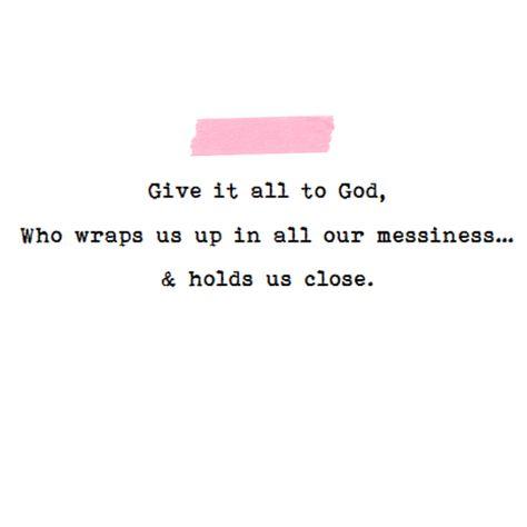 from Sweetness Itself Blog // book quote  #Broken #Jesus #Hope