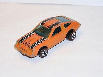 70s Hot Wheels Redline Monza 2 2 Orange Enamel Solid All Original