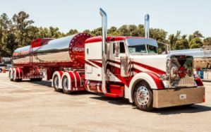 Peterbilt Trucks 389 Stripes Tractor Semi Wallpaper Peterbilt Trucks