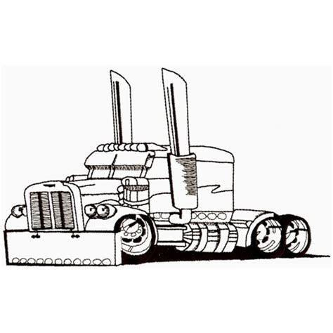 Image Result For Semi Truck Outline Clip Art Peterbilt Truck