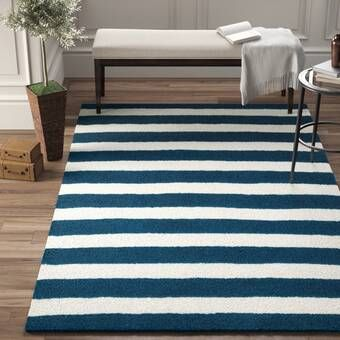 Nantucket Blue White Area Rug Reviews Birch Lane Navy And