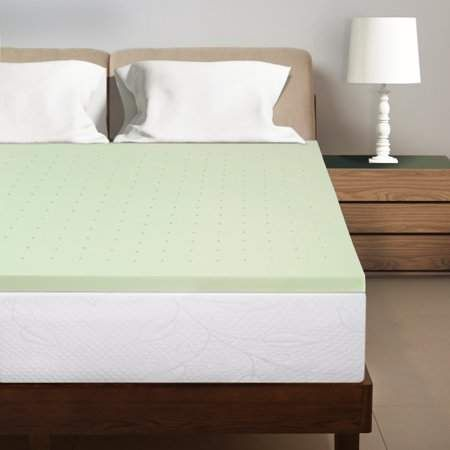 Best Price Mattress 1 5 Inch Green Tea Infused Memory Foam Bed