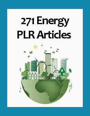 271 Energy PLR Articles -