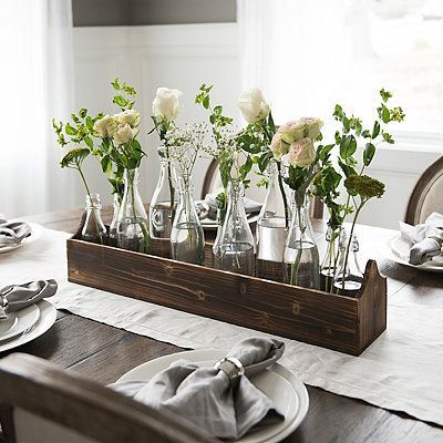 Nashville Home Tour French Style And Feminine Cottage Journal Table Centerpieces For Home Dining Room Table Decor Dining Table Centerpiece
