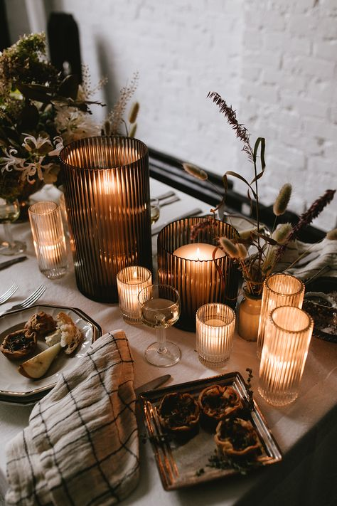 Our French Inspired Thanksgiving Table is Bringing all the Romance - coco kelley coco kelley Thanksgiving Table Settings, Thanksgiving Decorations, Thanksgiving Desserts, Foto Gift, Fall Decor, Holiday Decor, Holiday Candles, Holiday Centerpieces, Fall Candles