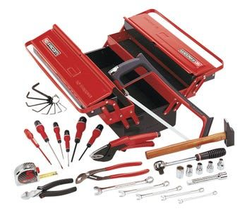 Malette A Outils 32 Pieces Facom Leroy Merlin Facom Outils Caisse A Outils