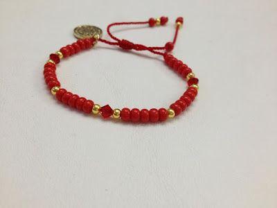 e729d555552a Pulseras Rojas ¡16 Fantásticas ideas de moda! | Moda y Tendencias ...