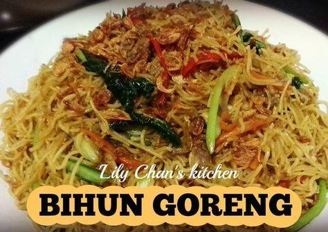 Resep Bihun Goreng Ala Lc Oleh Lily Chan S Kitchen Resep Resep Resep Makanan Masakan