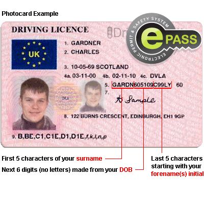 Driving Licence Checks - DVLA Licence checking online with Licence