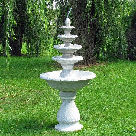 Brunnen Fontane 5 Stockig Brunnen Gartengestaltung Garten