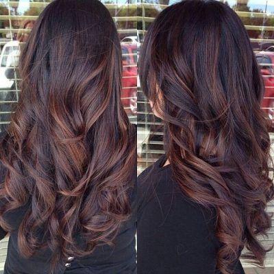 Color de cabello negro para triguenas
