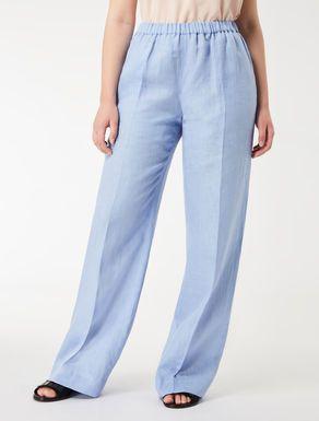 Pantalon De Lino Ligero Pantalones De Lino Ropa De Lino Vestidos De Talla Grande