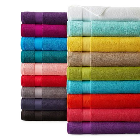 Jcpenney Home 6 Pc Bath Towel Set Towel Bath Towels