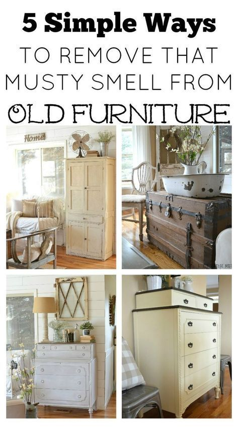 5 Ways To Remove That Musty Smell From Old Furniture How To Clean Furniture Recycled Furniture Refurbished Furniture