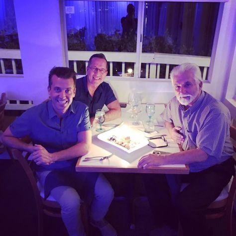 Birthday dinner with Papa!