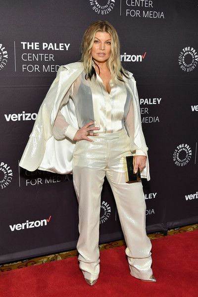 Fergie attends the 2018 Paley Honors at Cipriani Wall Street.