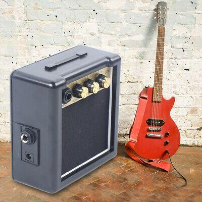 Portable Desktop Guitar Amplifier 3w Electric Guitar Practice Guitar Cable Guitar Guitar Amp