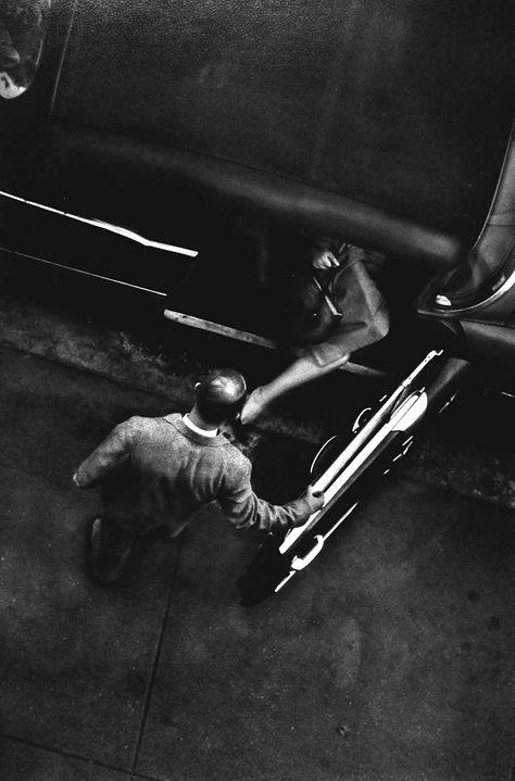 veuvenoir:    metal-knife:  New York 1950s W. Eugene Smith