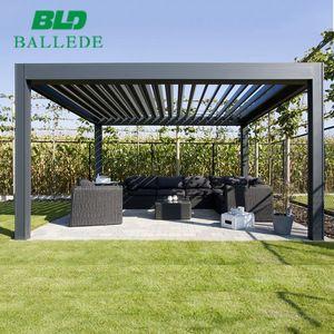 Metal Wall Mounted Garden Canopy Gazebo Pergola