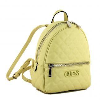 Cityrucksack Guess Elliana Backpack yellow Steppnähte