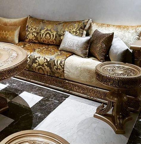 إلى جميع عاشقات المبرة أحدث موديلات الصالون المغربي لسنة 2018 ستصدمك مدهشة Deco Salon Marocain Salon Marocain Design Salon Marocain