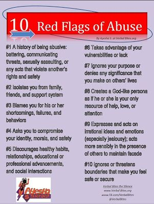 Dating red flags checklist