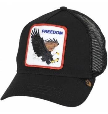 e26205c179256 Gorra Goorin Bros Freedom Black Aguila