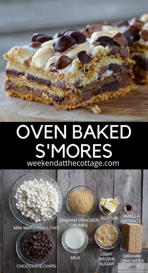 Anna Olson calls em a hot mess, we call them the best cottage dessert ever! Camping Desserts, Potluck Desserts, Summer Desserts, Easy Desserts, Delicious Desserts, Easy Kids Dessert Recipes, Easy Deserts For Kids, Easy Baking For Kids, Egg Free Desserts
