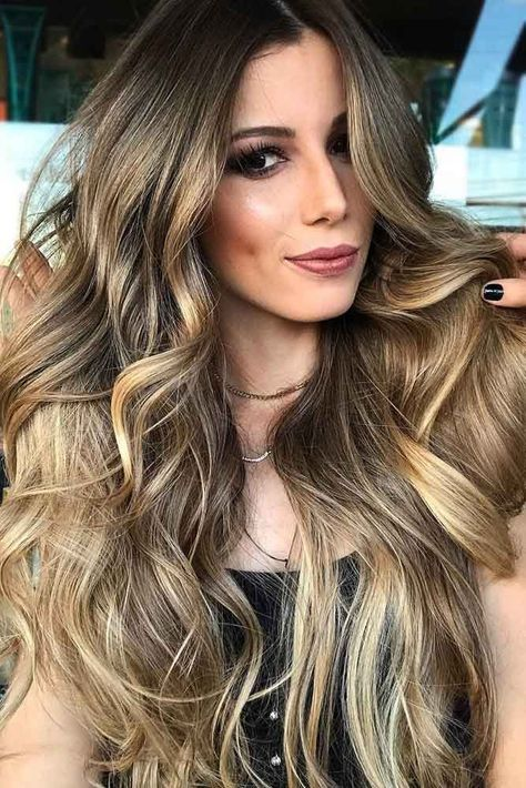 80+ Sexy Light Brown Hair Color Ideas