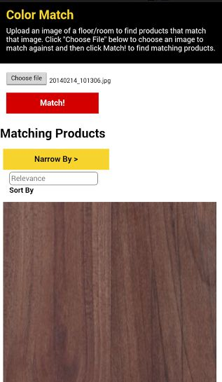 Try out our new Color Match tool for mobile & tablet users! Here's our How-To, to get you started!