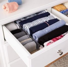 Deep Drawer Organization Bedroom Dressers 56 Ideas Deep Drawer Organization Organize Drawers Organization Bedroom