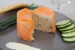 Charlotte aux deux saumons - Recette de Charlotte aux deux saumons - Cahier de cuisine