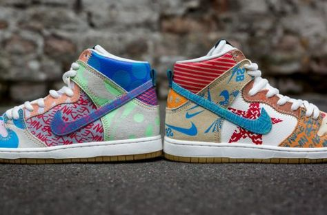 huge selection of 92d57 da5c2 Now Available  Thomas Campbell x Nike SB Dunk High Premium