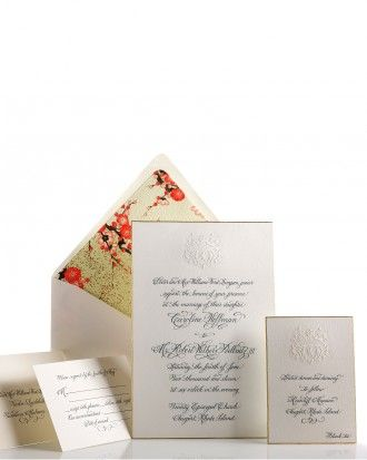 See The Formal Invitation In Our Classic Wedding Invitations
