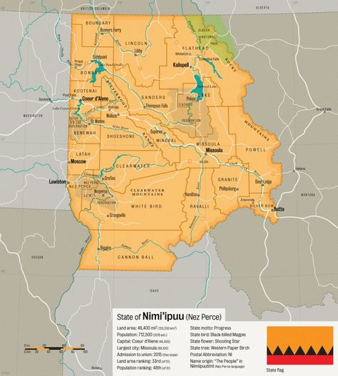 Nimi Ipuu Pacific Northwest State Proposal By Schreibstang Maps