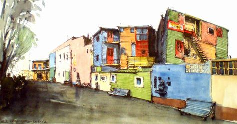 Urban Sketchers Argentina: Cd. de Buenos Aires