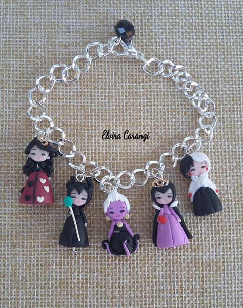Polymer clay characters - Disney villains