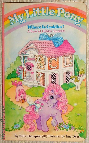 my little pony where is cuddles a book