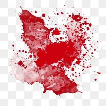 Watercolor Red Bloodstain Splashing Ink Png And Psd Watercolor Red Flower Png Images Splash Images
