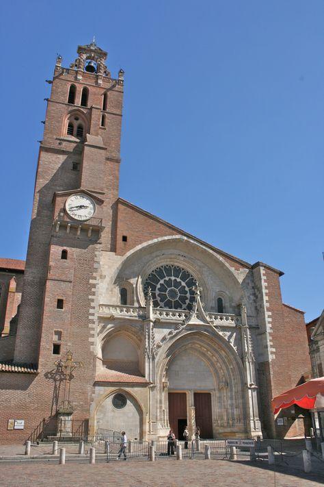 Cathédrale Saint-Etienne de Toulouse.
