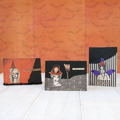 Wicked Witch Card Set Project - Stampington