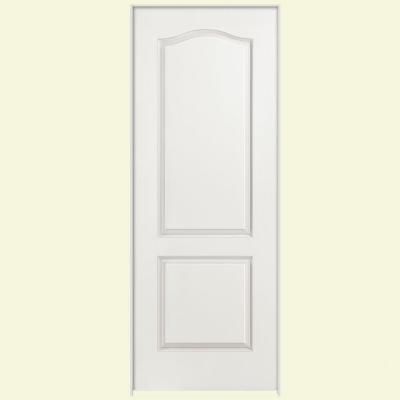 Masonite smooth panel arch top hollow core primed composite interior door slab at the home depot mobile renovations doors closet also rh pinterest