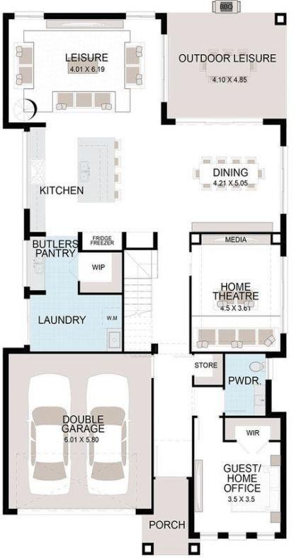 Kitchen Floor Plans Layout Pantries 40 Ideas Kitchen Layout Plans Pantry Design Floor Plan Layout