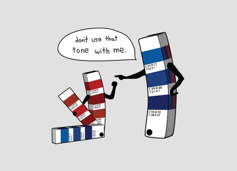 For my fellow graphic designers.a little Pantone humor! Art Jokes, Art Puns, Haha, Funny Commercials, How To Apologize, Humor Grafico, Grafik Design, Just For Laughs, Funny Design