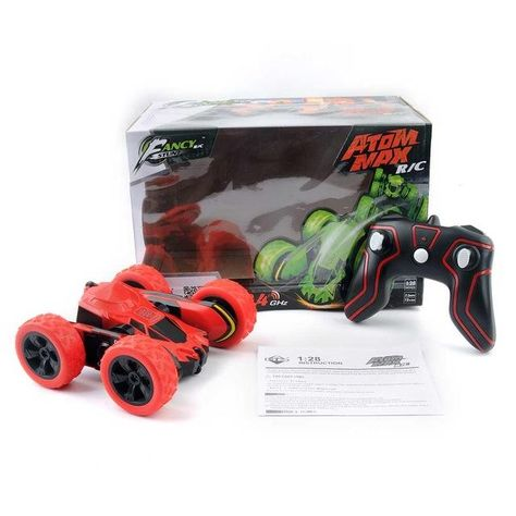 The Original Flip Remote Control Car - Double Sided Remote Control Car - Red / United States