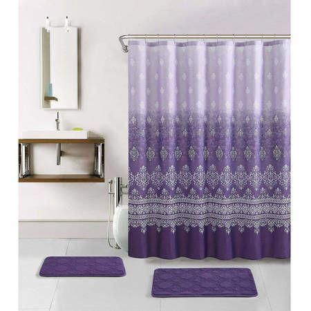 Advice Secrets Plus Overview When It Comes To Receiving The Best Outcome And Attaining The Max U Purple Shower Curtain Purple Bathrooms Purple Bathroom Decor