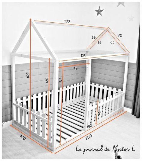 Decoração Infantil : Cama Montessoriana
