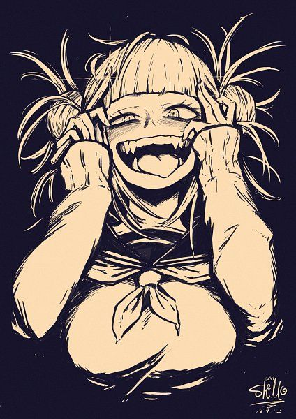 Toko is so flipping crazy  I love her  My kind of Yandere
