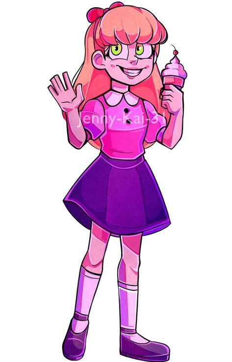 Elizabeth Afton 2 0 By Jenny Kai 31 Fnaf Afton Fnaf Drawings