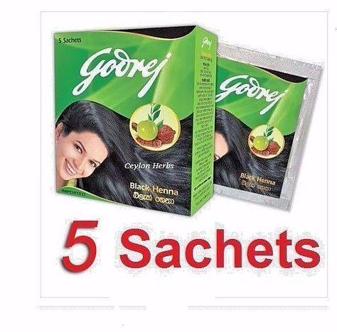 5a23e39d5 Nr 5 Sachet Pack Godrej Black Henna Powder Hair Dye Amla Shikakai Aritha Usa